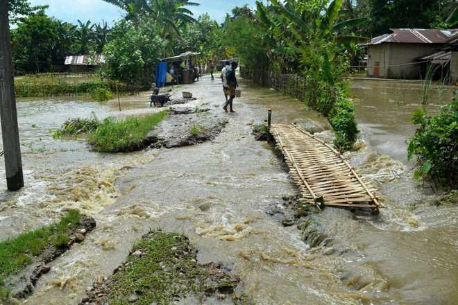 Assam flood situation remains critical, 1.88 lakh affected