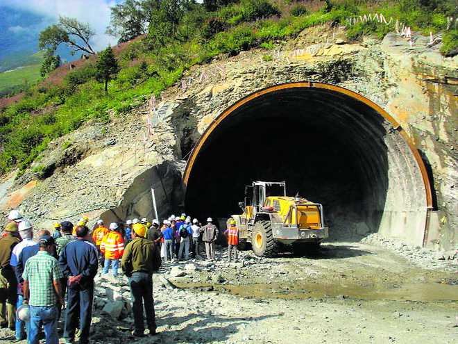 Image result for rohtang tunnel status 2017