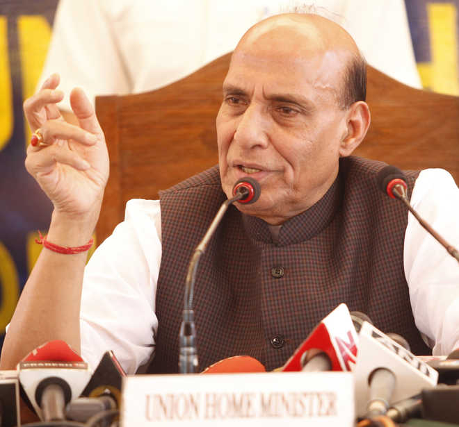 Want emotional bond with people of Kashmir: Rajnath