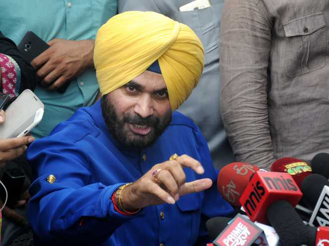 Sidhu slams BJP, says quit Rajya Sabha as he was told to stay away from Punjab
