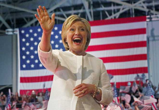 Hillary Clinton makes history as first woman White House nominee