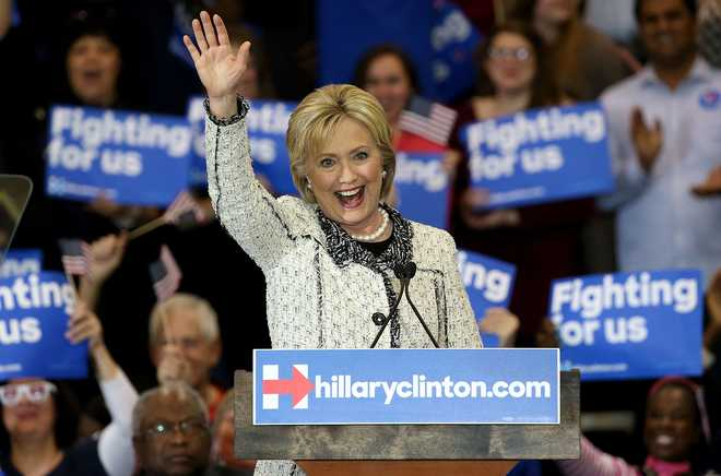 Hillary's remarks on outsourcing targeted by pro-Trump advert