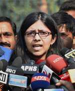 DCW chief booked for naming Dalit rape victim
