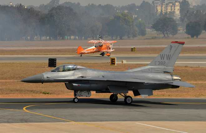 Co-production of F-16s to figure during US Air Force Secy's India visit