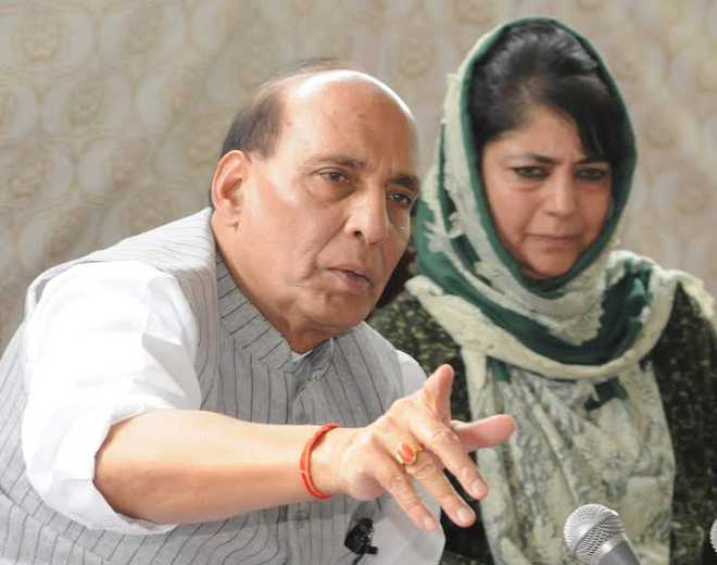 All-party delegation to visit Kashmir: Rajnath