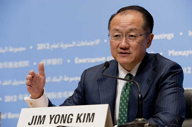 US nominates Jim Yong as World Bank chief for 2nd term