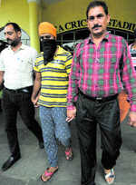 Drug smuggler with Pak link held