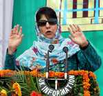 Children should be in schools, not on streets, says Mehbooba