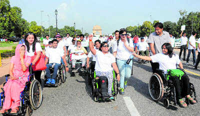 Rally to spread awareness on spinal cord injuries