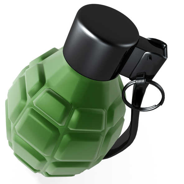 how to make a fake grenade