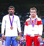Dutt wants Russian's family to retain silver