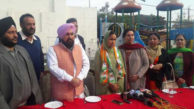 After nine days in AAP, Balwinder rejoins Congress