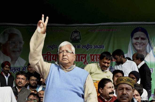 Lalu to get Rs 10,000 monthly JP Senani Samman Pension