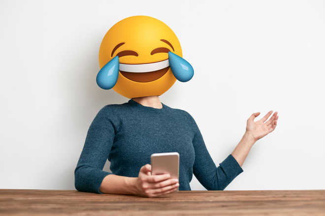 'Face with tears of joy' world's most popular emoji