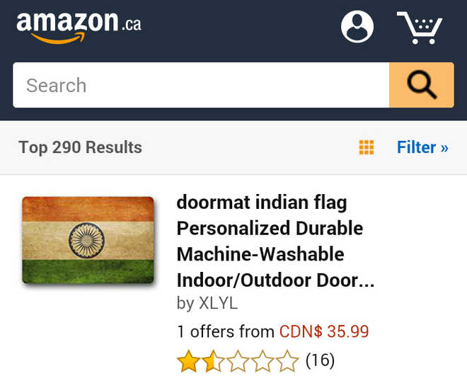 Amazon insults Tricolour, Sushma says apologise or we cancel visas