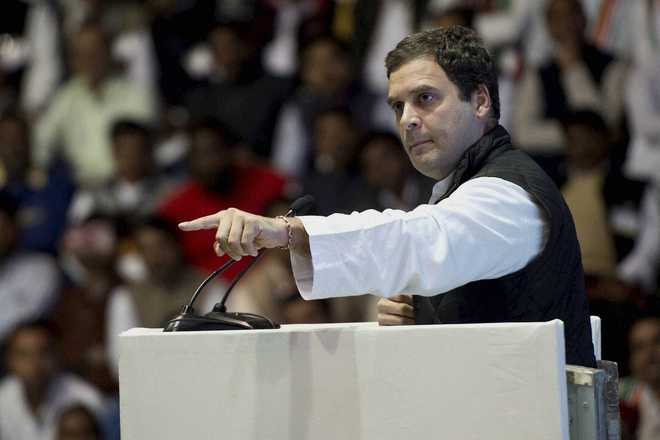 Rahul thinks media is 'meek' under PM Modi, says so