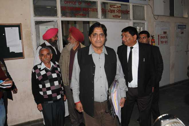 Democratic Swaraj Party candidate files nomination papers on Day 1