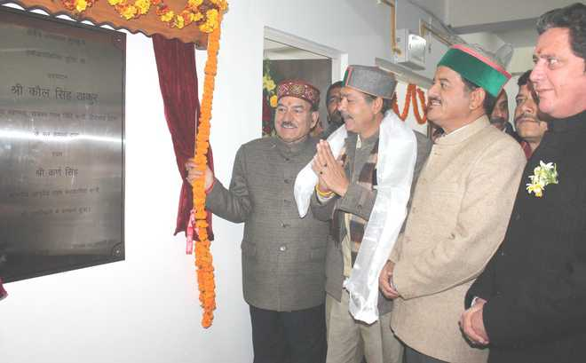 Now, dialysis facility at Kullu regional hospital