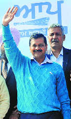AAP's CM candidate from Punjab: Kejriwal