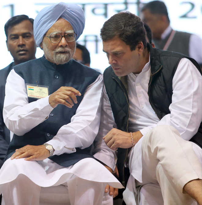 'Achhe din' only under Cong in 2019: Rahul