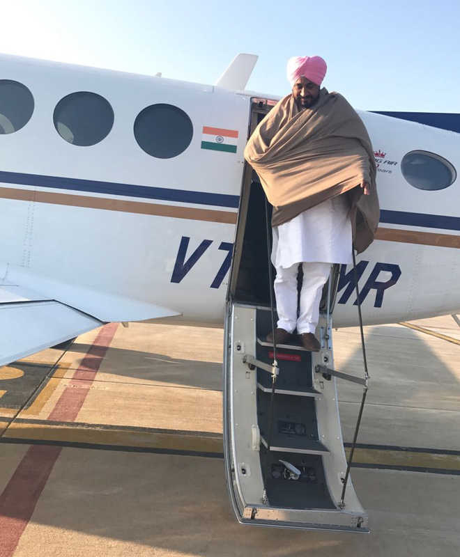 Rahul lets Channi use plane for a day