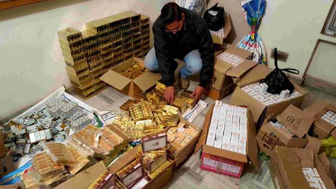 Drugs worth Rs 2 crore in black seized