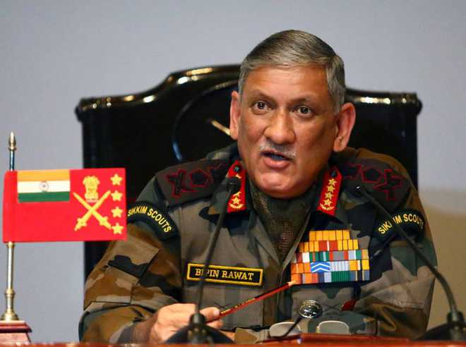 Need to wait and watch Pak response on J&K: Army chief