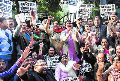 BJP councillors demand DFC-recommended funds