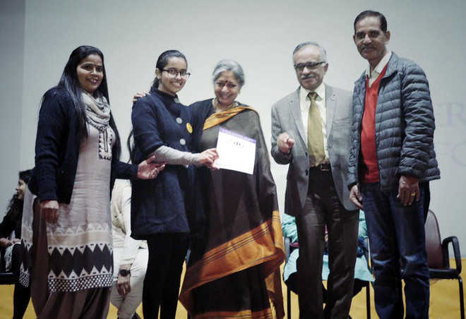 CBSE selects local student's story for book