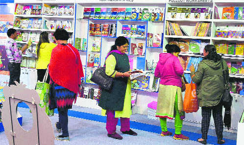 Books on Bollywood celebs selling like hot cakes at Book Fair