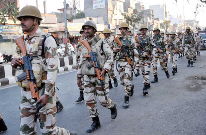 23 companies of paramilitary forces to be deployed
