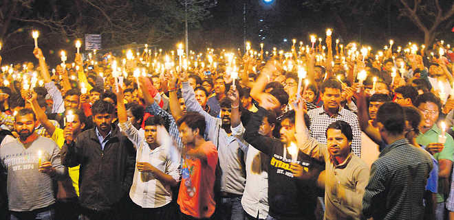 Remembering Rohith, for right to dissent