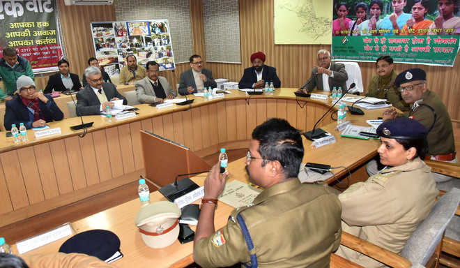 Inter- state police meet for smooth conduct of polls