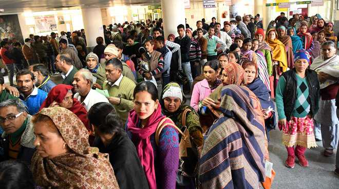 Strike adds to patients' pain at Panchkula Civil Hospital
