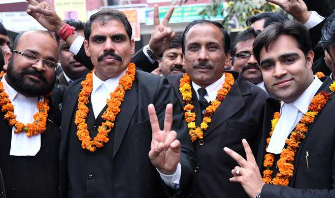 Lohra is Panchkula Bar Assn president