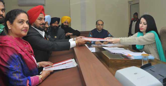 TPS Sidhu, four others file nominations from Mohali
