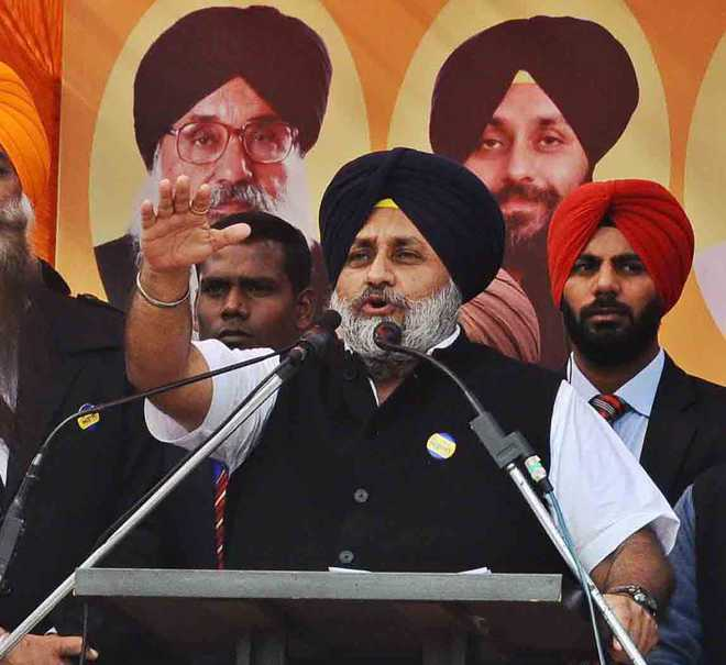 AAP funded by foreign-based terrorist bodies: Sukhbir