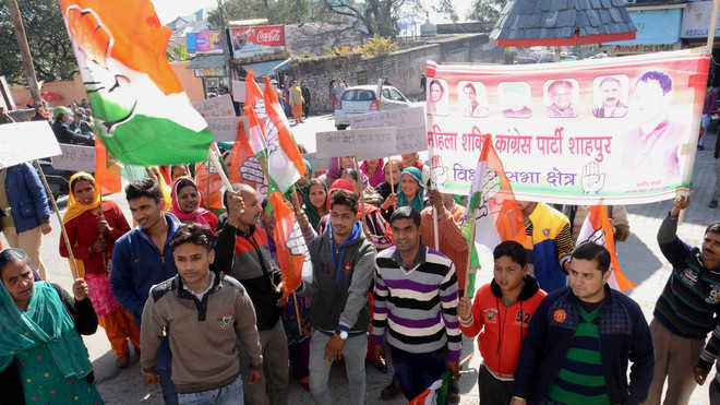 Cong protests demonetisation