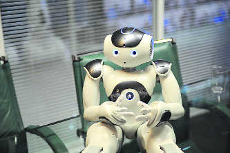 A robotic assistant that gets your mood!