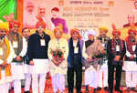 BJP urges activists to throw out AAP