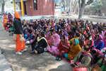 Asha workers hold show of strength