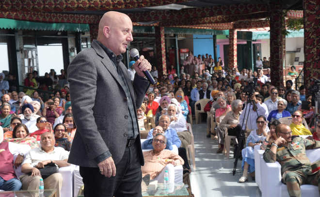 From Shimla to Hollywood, Kher recalls journey at Kasauli lit fest