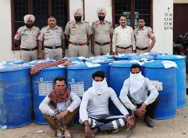 3,751 litres of alcohol seized