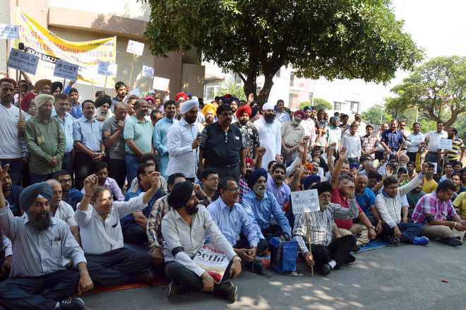 Industry protests GST slabs on sewing machine parts