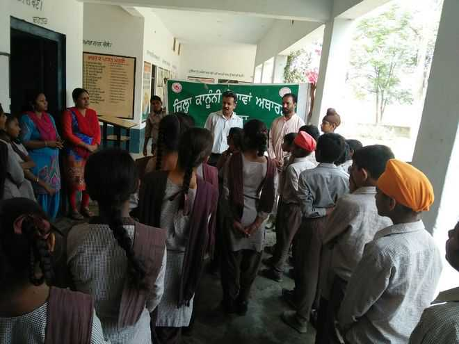 Students apprised of DLSA schemes