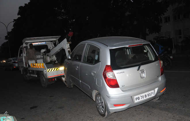 1,074 challans issued for wrong parking in 14 days