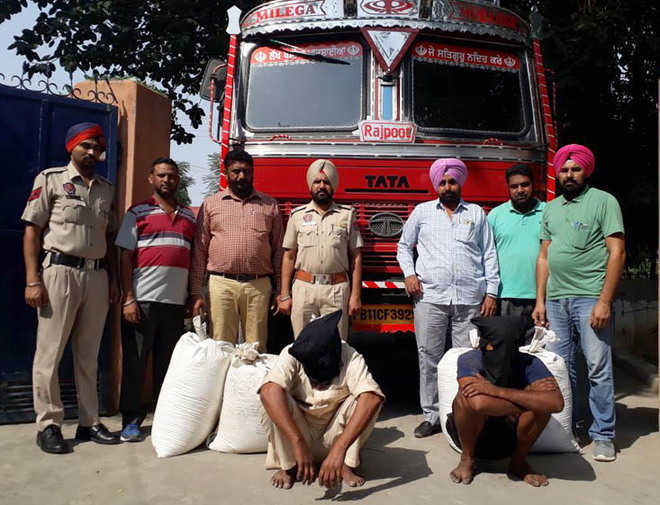3 held with poppy husk, intoxicant pills