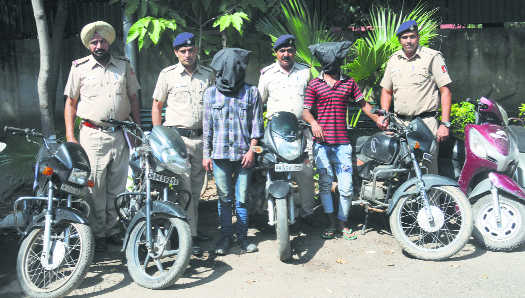 Two vehicle thieves arrested