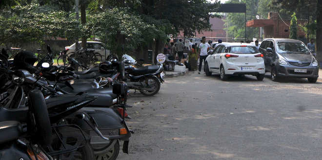 In Mohali, parking charge of car higher than OPD fee