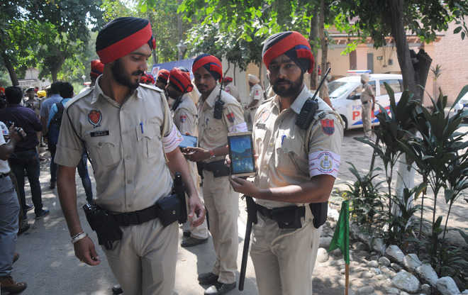 Now, foot patrolling in city
